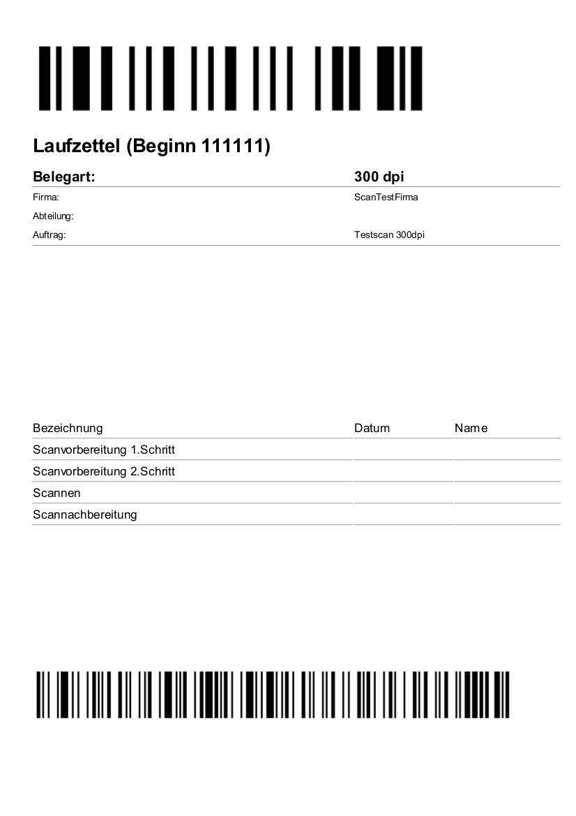 scanndoc Laufzettel Digitalisierung